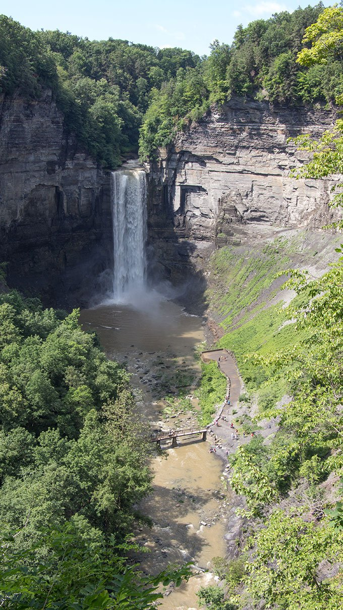Taughannock Falls Finger Lakes getaway from NYC