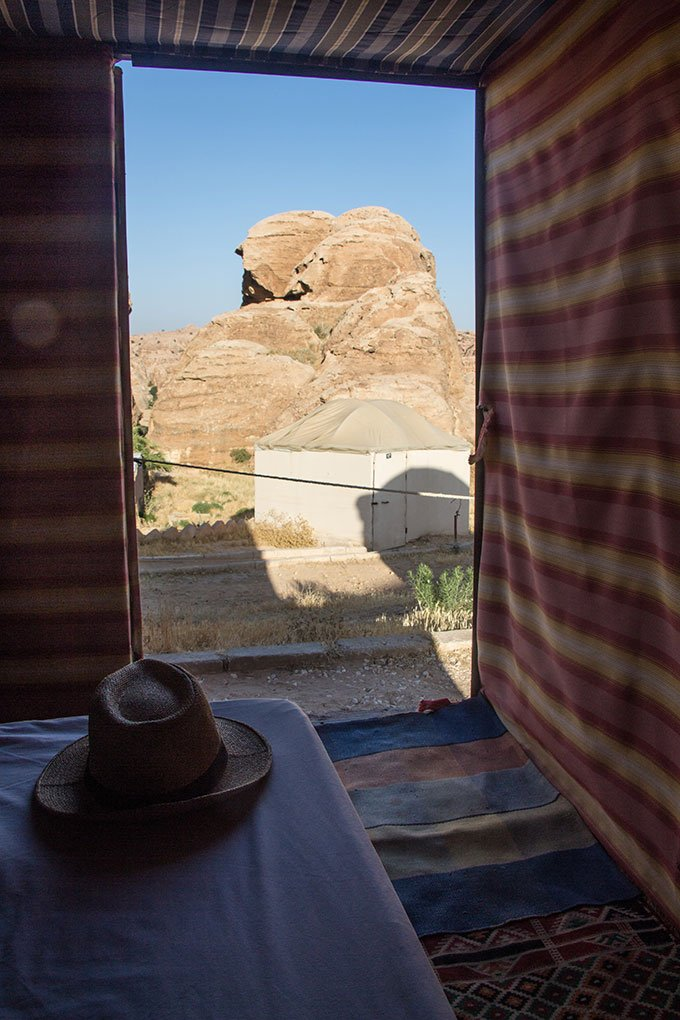 Staying in a Bedouin yurt in Jordan