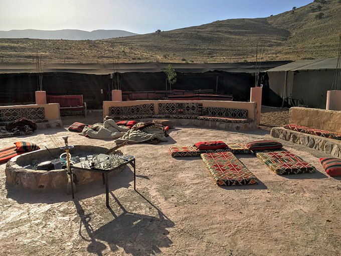 Staying at a Bedouin camp in Jordan