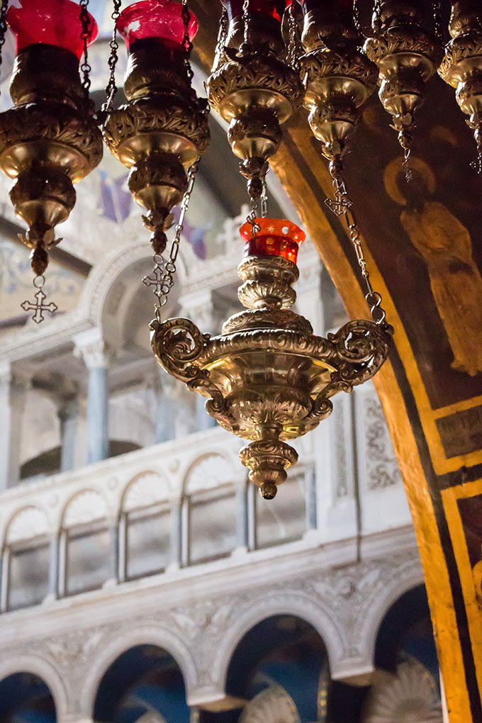 Church of the Holy Sepulchre, Jerusalem, Israel.
