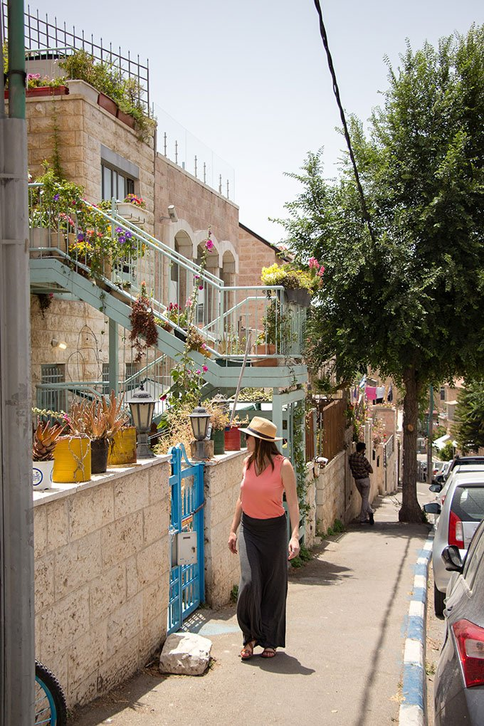 Exploring Jerusalem's new city