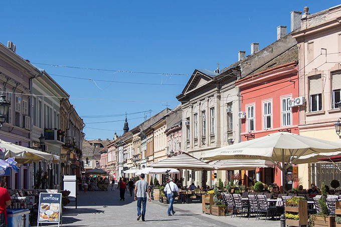 Things to do in Novi Sad, Serbia: Visit the old town.