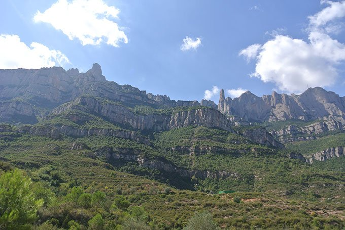 View of Montserrat: Fun things to do in Barcelona for a girlfriends getaway.