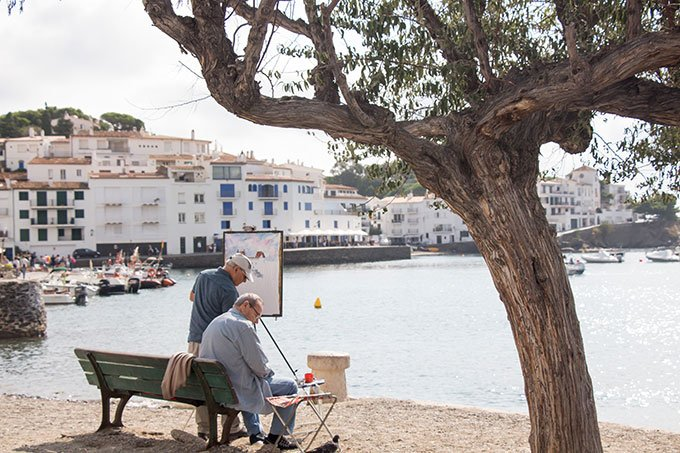 Artists by the sea. Best places to go in Spain: Cadaqués, Costa Brava
