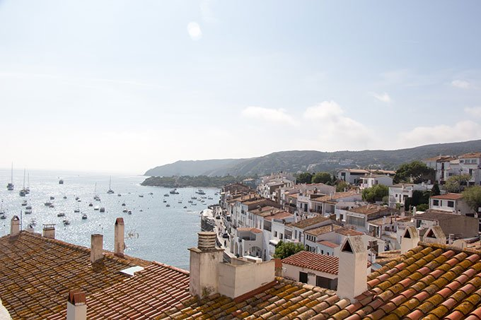 Rooftop view. Best places to go in Spain: Cadaqués, Costa Brava