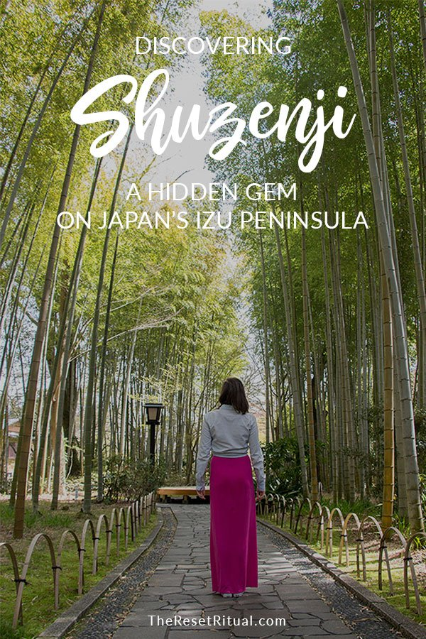 Discover Shuzenji, a hidden gem on Japan's Izu peninsula.