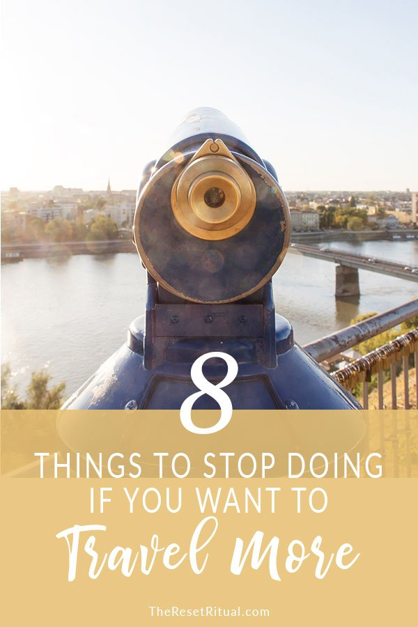 Travel Goals Guide: Ready to turn your wanderlust into reality? Stop making these eight mistakes so you can bring that travel bucket list of yours to life. Plus, join in the free 5-day Travel Goals Challenge!