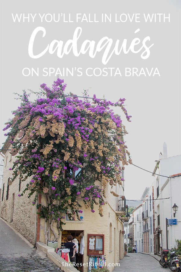 Wondering where to stay on Spain\'s Costa Brava? Just a two and a half hour drive from Barcelona lies one of the most beautiful places in Spain, an old fishing village by the sea with enough charm to sweep you off your feet in a severe and almost unexpected way. Read why you have to visit Cadaqués. #CostaBrava #Spain #travelguide
