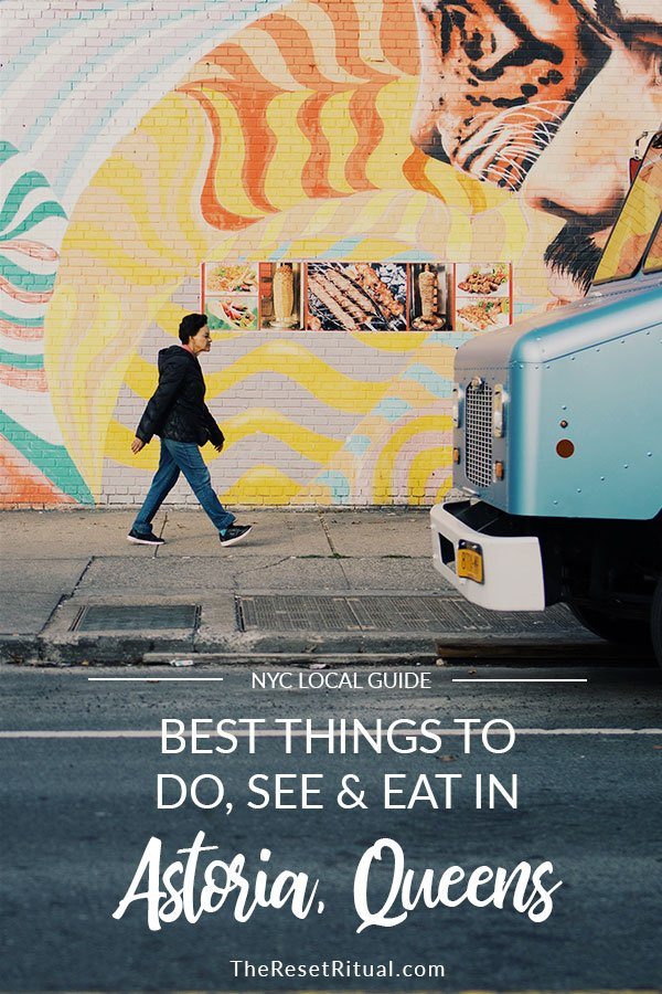 Planning a trip to NYC and looking for things to do outside of Manhattan? Experience the diversity and global food scene in Astoria, Queens with this local NYC travel guide.