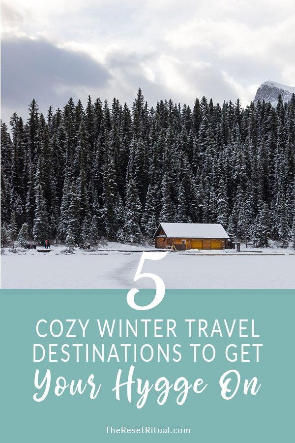Winter travel destinations perfect for a hygge holiday. Embrace the snow, visit Christmas markets, see the aurora borealis and more. Click to read! #winter #vacation #travel #hygge