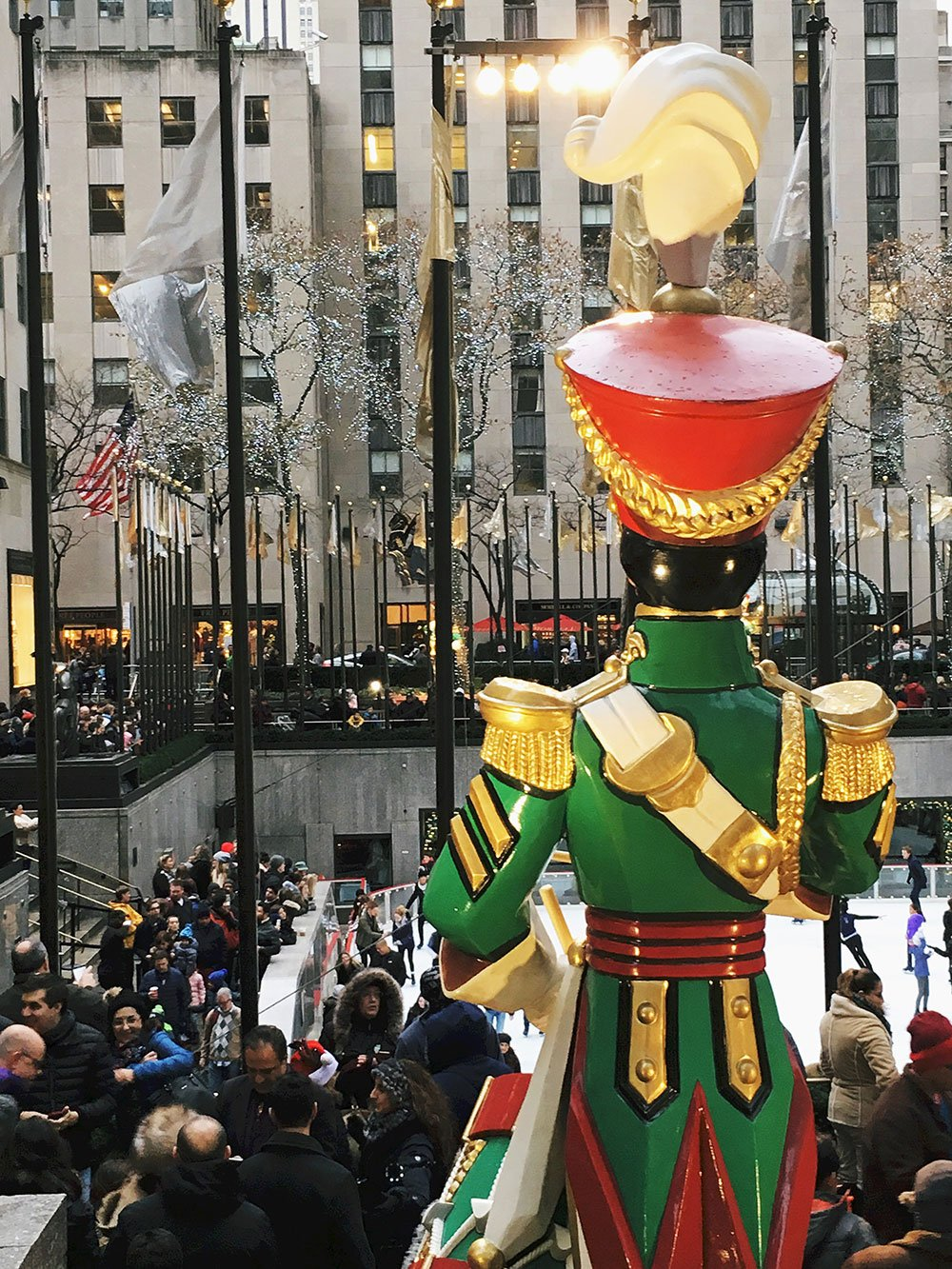 Toy soldier NYC Christmas decoration