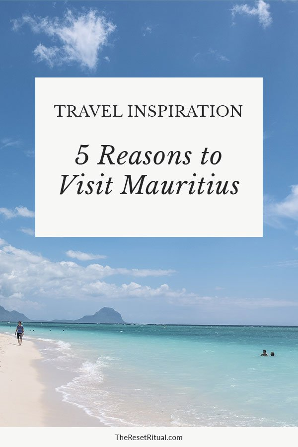 Looking for vacation inspiration? There are so many things to do in Mauritius, from beautiful beaches and waterfalls to bustling markets Hindu temples and rich culture. Find out why you should visit this stunning Indian Ocean island. #beachdestinations #mauritius #africatravel #islands