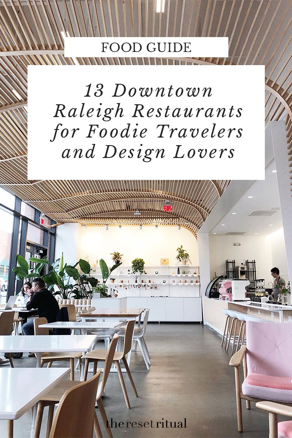 The downtown Raleigh restaurant scene is a foodie travel paradise. Sure, there's plenty of barbecue and comfort food, but these design-driven, locally-sourced restaurants boast a fusion of international flavors with their own local spin. #foodguide #raleigh