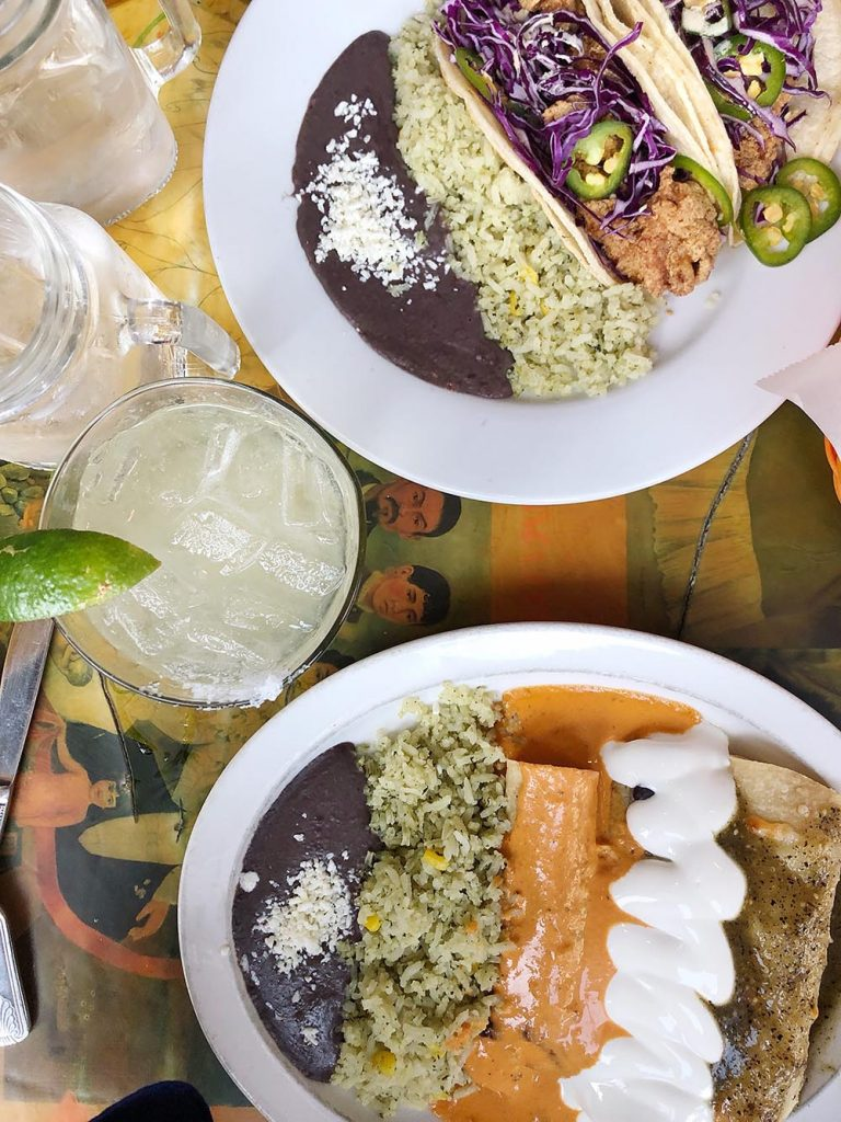 Organic Mexican food at Centro in downtown Raleigh, NC