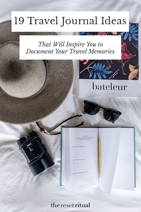 Need travel journal ideas for your next trip? Use these travel journal prompts and creative tips to document your travel memories. #traveljournal #travelinspiration