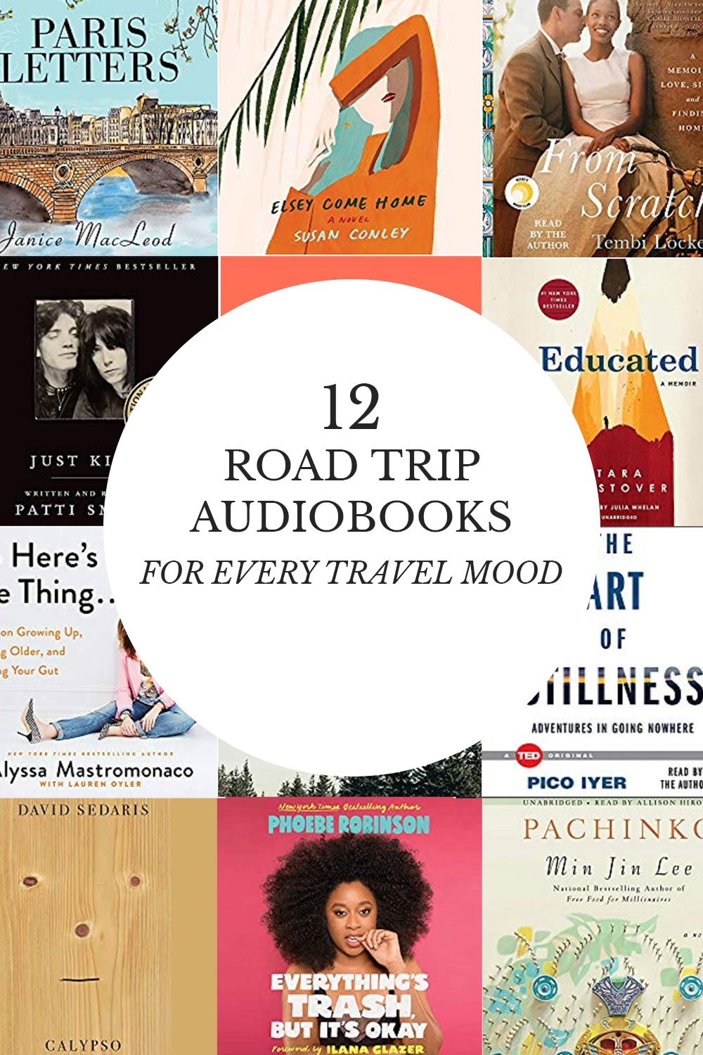 These audiobooks for roadtrips are bound to turn your car journey into a voyage. From fiction audiobooks to funny and self-help audiobooks, there's something for every kind of trip this summer and beyond. #audiobooks #roadtrips #bookrecommendations