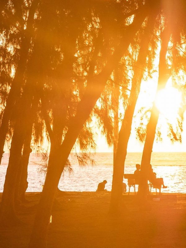 sunset on the beach | summer self care plan